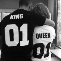 ЗА ВЛЮБЕНИ! LOVE T-SHIRTS KING & QUEEN